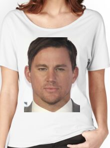 Cool Channing Tatum Face 2 by macyn Women's Relaxed Fit T-Shirt
