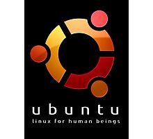 Ubuntu - linux for human beings Photographic Print