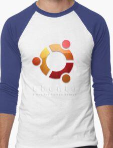 Ubuntu - linux for human beings Men's Baseball ¾ T-Shirt
