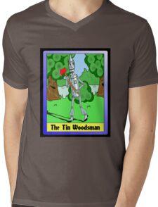 """""""The Tin Woodsman"""" Mens V-Neck T-Shirt"""