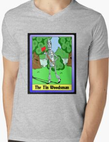 """The Tin Woodsman"" Mens V-Neck T-Shirt"