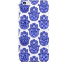 hamsa print iPhone Case/Skin