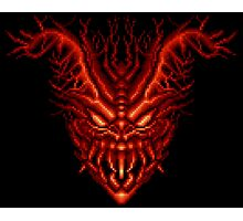 Contra III - Red Falcon Photographic Print
