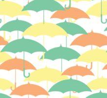 Umbrellas Sticker