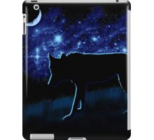 Wolf Stalking by Moonlight iPad Case/Skin