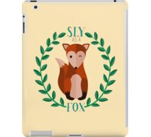 Sly as a Fox iPad Case/Skin
