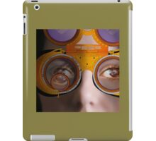 eye as a lens - steampunk variations - detail perspective iPad Case/Skin