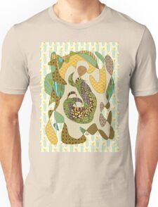 Mother Earth Abstract Illustration Animal Plant Patterns Unisex T-Shirt