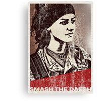 Smash the daesh Canvas Print