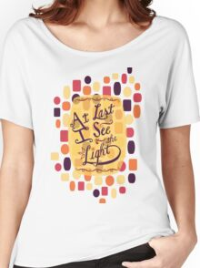Tangled - At Last I See the Light Women's Relaxed Fit T-Shirt