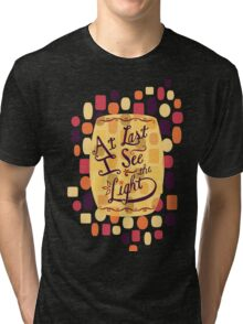 Tangled - At Last I See the Light Tri-blend T-Shirt