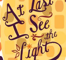 Tangled - At Last I See the Light Sticker