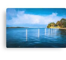 Blue Lagoon  (GO) Canvas Print