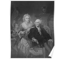 President Washington At Home Poster