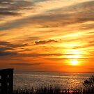 Sunset Over The Sea by Cynthia48