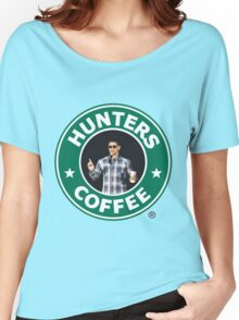 "Supernatural - ""Hunters Coffee"" Women's Relaxed Fit T-Shirt"