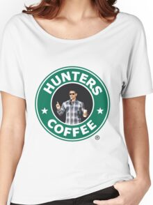 """Supernatural - """"Hunters Coffee"""" Women's Relaxed Fit T-Shirt"""