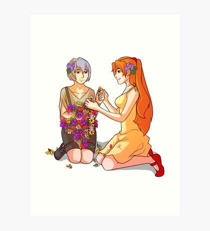 Asurei -- Violets Art Print