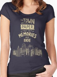 Paper Towns John Green Quote Women's Fitted Scoop T-Shirt