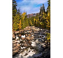 The Beauty Of Icicle Creek Photographic Print