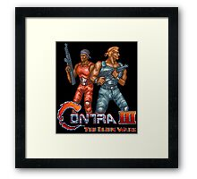 Contra III Framed Print