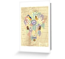 Up - Adventure is Out There Greeting Card