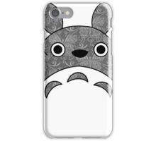 Totoro Cat Damask iPhone Case/Skin