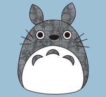 Totoro Cat Damask Kids Tee