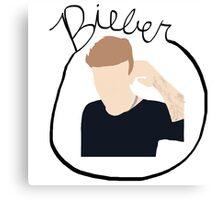 Justin Bieber Canvas Print