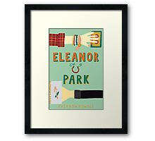 Eleanor and Park by Rainbow Rowell Book Cover Framed Print
