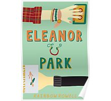 Eleanor and Park by Rainbow Rowell Book Cover Poster