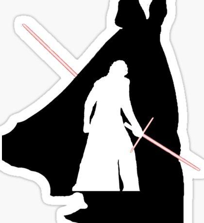 Darth Vader / Kylo Ren Sticker