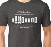 Silvertone Tubes 1484 Twin Twelve Head Unisex T-Shirt
