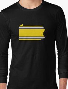 Penn Steel Stripes Long Sleeve T-Shirt