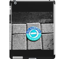 Swimming with the Fishes iPad Case/Skin