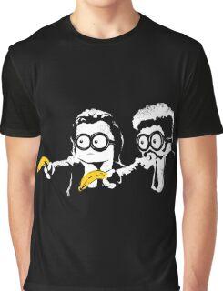 Minion Banana Fiction Graphic T-Shirt
