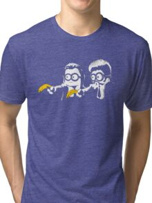 Minion Banana Fiction Tri-blend T-Shirt
