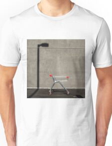 Lonely shopping trolley Unisex T-Shirt