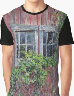 Barn Windows, by artist Lynn Garwood Graphic T-Shirt
