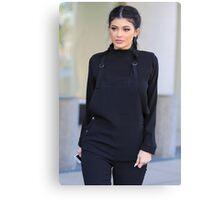 Kylie Jenner - Braids Canvas Print