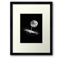 Luna Finds A Drink Framed Print