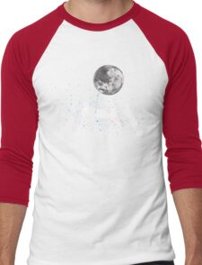 Luna Finds A Drink Men's Baseball ¾ T-Shirt