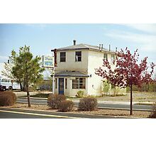 Route 66 - Wayside Motel Photographic Print