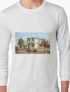 Route 66 - Wayside Motel Long Sleeve T-Shirt