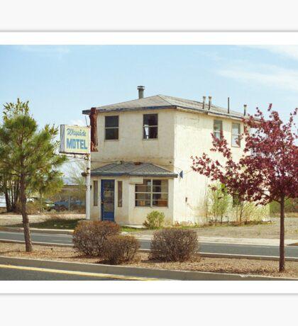Route 66 - Wayside Motel Sticker