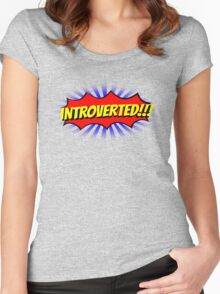INTROVERTED!!! Women's Fitted Scoop T-Shirt