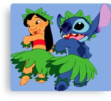 Lio & Stitch funny Canvas Print
