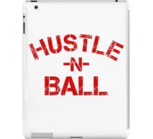Hustle n Ball - Red iPad Case/Skin