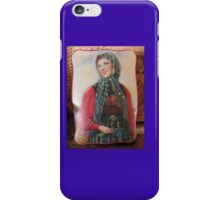 Fair Tartan Mona Lisa of the Heather Meadow Girl of Your Dreams iPhone Case/Skin