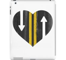 LOVE IS A TWO WAY STREET iPad Case/Skin